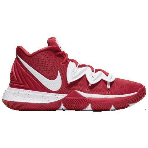 (取寄)ナイキ メンズ バッシュ カイリー 5 バスケットボール シューズ Nike Men's Kyrie 5 University Red White
