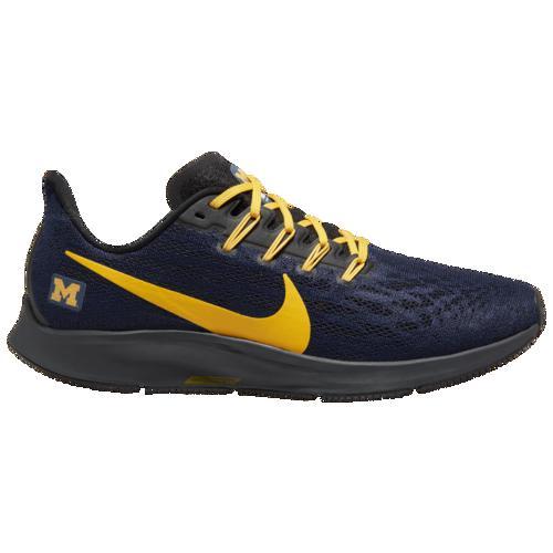 (取寄)ナイキ メンズ ランニングシューズ エア ズーム ペガサス 36 NCAA ミシガン ウルバリンズ Nike Men's Air Zoom Pegasus 36 NCAA ミシガン ウルバリンズ College Navy University Gold Black
