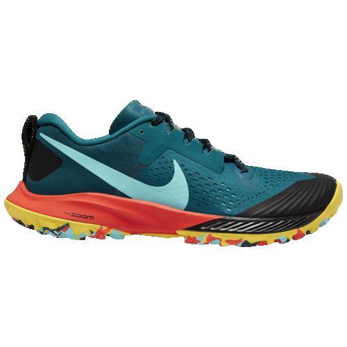 (取寄)ナイキ メンズ ズーム テラ カイガー 5 Nike Men's Zoom Terra Kiger 5 Geode Teal Aurora Green Black Bright Crimson
