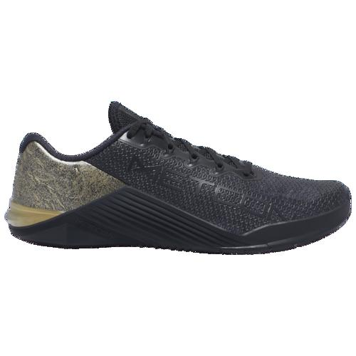 (取寄)ナイキ メンズ メトコン 5 10 Nike Men's Metcon 5 X Black Metallic Gold Black