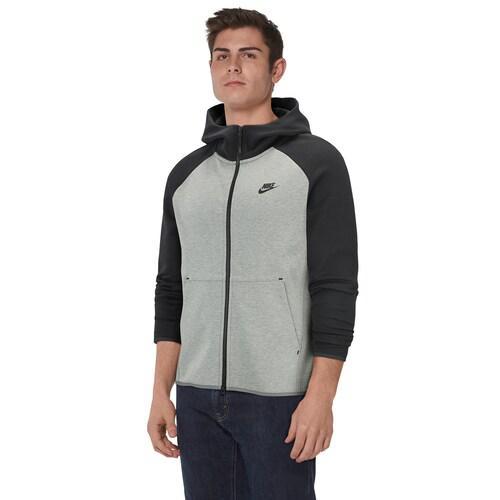 Nike Tech Fleece Zip Hoodie Dark Grey HeatherBlack