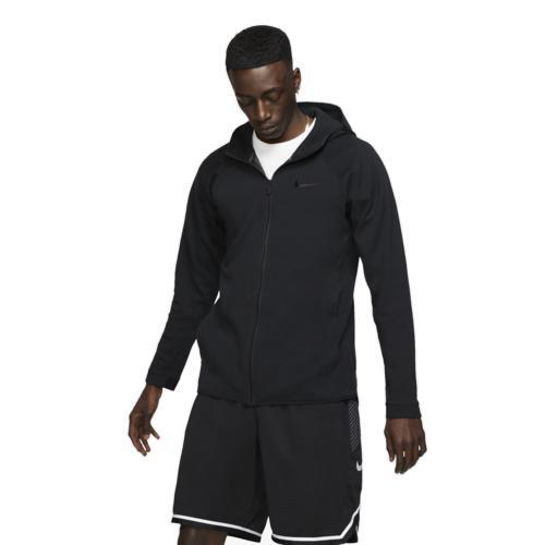 (取寄)ナイキ メンズ パーカー ショータイム F/Z フーディ Nike Men's Showtime F/Z Hoodie Black Cool Grey Anthracite