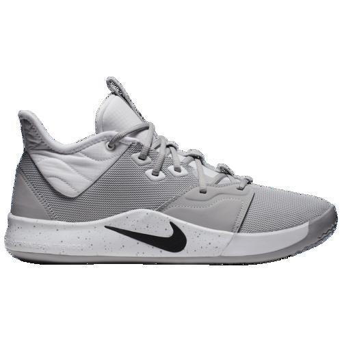 (取寄)ナイキ メンズ バッシュ PG 3 ポールジョージ バスケットボール シューズ Nike Men's PG 3 Wolf Grey Black White