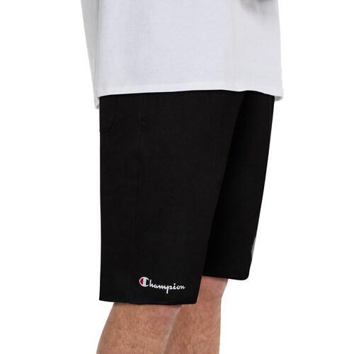 (取寄)チャンピオン メンズ マスコット ショーツ Champion Men's Mascot Shorts 黒 白い