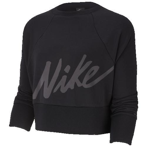 (取寄)ナイキ レディース ゲット フィット ラックス クルー Nike Women's Get Fit Lux Crew Black
