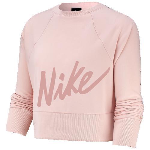 【クーポンで最大2000円OFF】(取寄)ナイキ レディース ゲット フィット ラックス クルー Nike Women's Get Fit Lux Crew Echo Pink