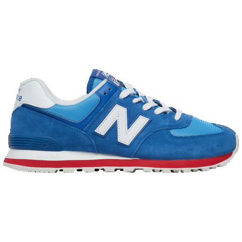 (取寄)ニューバランス メンズ 574 New Balance Men's 574 Classic Blue Team Red