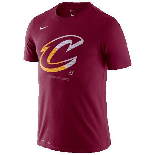NIKE ナイキ Tシャツ カットソー ファッション ブランド クーポンで最大2000円OFF 春の新作シューズ満載 推奨 取寄 メンズ NBA スプリット クリーブランド Logo Nike Men's Split T-Shirt キャバリアーズ Red Team ロゴ