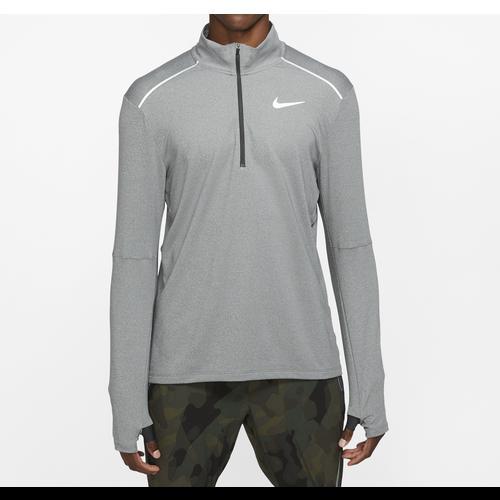 (取寄)ナイキ メンズ エレメント 1/2 ジップ トップ 3.0 Nike Men's Element 1/2 Zip Top 3.0 Smoke Grey Heather Grey Fog Reflective Silver