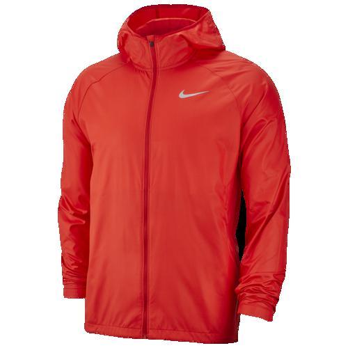 (取寄)ナイキ メンズ エッセンシャル フーデット ジャケット Nike Men's Essential Hooded Jacket University Red Reflective Silver