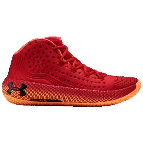 (取寄)アンダーアーマー メンズ バッシュ ホバー ハボック 2 バスケットボール シューズ Underarmour Men's HOVR Havoc 2 Red Glow Orange Black