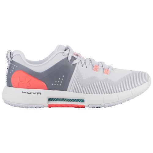 (取寄)アンダーアーマー レディース ホバー ライズ Underarmour Women's Hovr Rise Halo Grey Halo Grey Beta Red