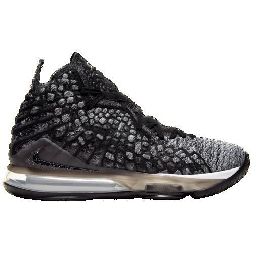 (取寄)ナイキ メンズ バッシュ レブロン 17 バスケットボール シューズ Nike Men's LeBron 17 Black White