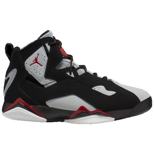 (取寄)ジョーダン メンズ トゥルー フライト Jordan Men's True Flight Black Varsity Red Wolf Grey White