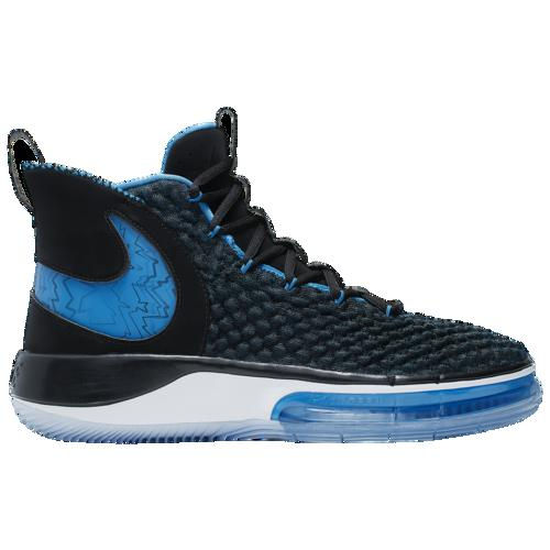 (取寄)ナイキ メンズ バッシュ アルファダンク バスケットボール シューズ Nike Men's AlphaDunk Black Photo Blue White