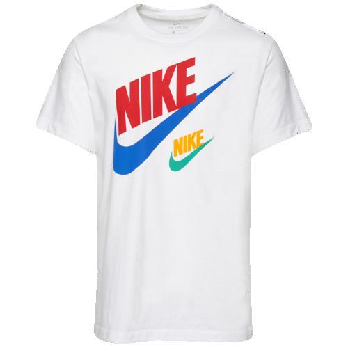 (取寄)ナイキ メンズ 2 フューチュラ Tシャツ Nike Men's 2 Futura T-Shirt White Red Royal