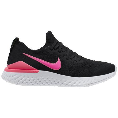 (取寄)ナイキ メンズ エピック リアクト フライニット 2 Nike Men's Epic React Flyknit 2 Black Black Pink Blast White