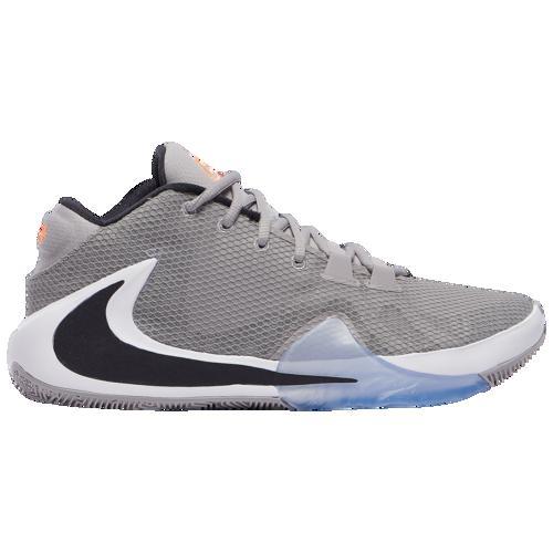 【クーポンで最大2000円OFF】(取寄)ナイキ メンズ バッシュ ズーム フリーク 1 ヤニス アデトクンボ バスケットボール シューズ Nike Men's Zoom Freak 1 Atmosphere Grey Oil Grey Cool Grey White