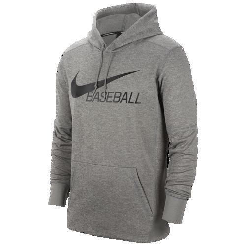(取寄)ナイキ メンズ パーカー ベースボール フーディ 野球 Nike Men's Baseball Hoodie Dark Grey Heather Black