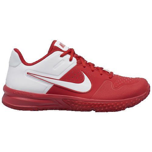 (取寄)ナイキ メンズ アルファ ハラチ バーシティ ターフ Nike Men's Alpha Huarache Varsity Turf University Red White
