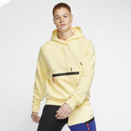 (取寄)ナイキ メンズ パーカー カイリー アービング フーディ Nike Men's Kyrie Hoodie Bicycle Yellow