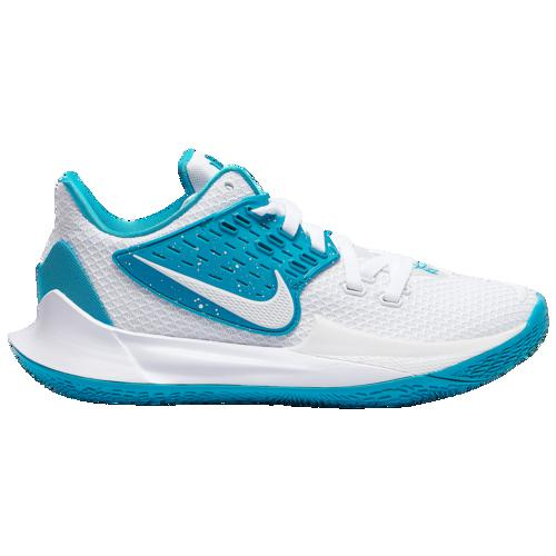 【クーポンで最大2000円OFF】(取寄)ナイキ メンズ バッシュ カイリー ロー 2 バスケットボール シューズ Nike Men's Kyrie Low 2 White Rapid Teal