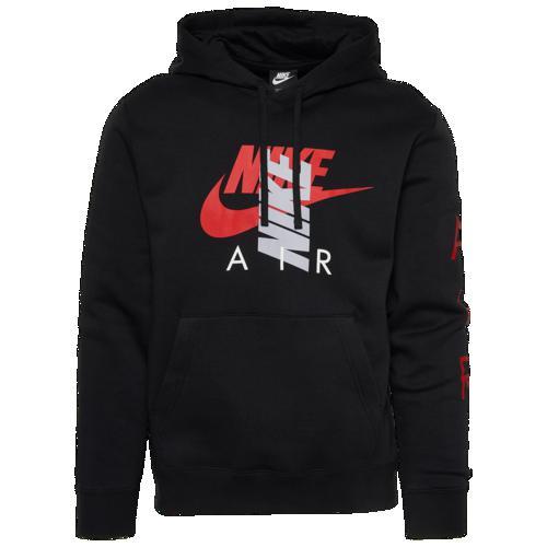 (取寄)ナイキ メンズ パーカー CB エア フーディ Nike Men's CB Air Hoodie Black Red Grey