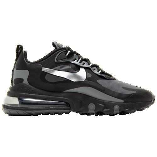 (取寄)ナイキ メンズ エア マックス 270 リアクト WTR Nike Men's Air Max 270 React WTR Black Metallic Silver Dark Grey