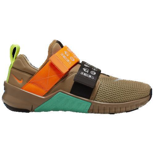 (取寄)ナイキ メンズ フリー 10 メトコン 2 Nike Men's Free X Metcon 2 Beechtree Total Orange Brown Green
