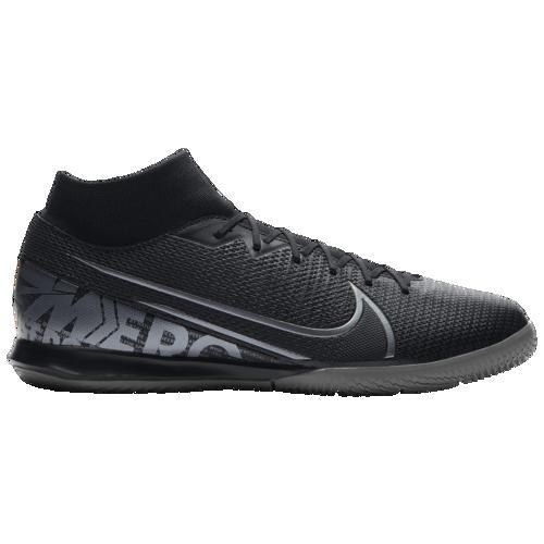 (取寄)ナイキ メンズ マーキュリアル スーパーフライ 7 アカデミー ic Nike Men's Mercurial Superfly 7 Academy IC Black Metallic Cool Grey Cool Grey