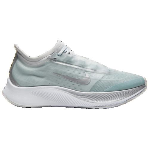 (取寄)ナイキ レディース ズーム フライ 3 Nike Women's Zoom Fly 3 Ocean Blue Metallic Silver Pure Platinum