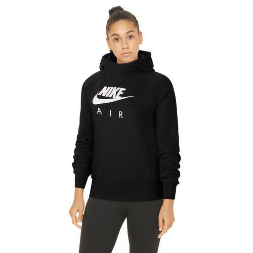 (取寄)ナイキ レディース パーカー エア フーディ ロゴ Nike Women's Air Hoodie Black White