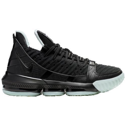 【クーポンで最大2000円OFF】(取寄)ナイキ メンズ レブロン 16 バスケットボール シューズ レブロン・ジェームス Nike Men's LeBron 16 Black Black