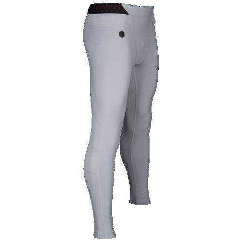 (取寄)アンダーアーマー メンズ コールドギア ラッシュ レギンス Underarmour Men's ColdGear Rush Leggings Mod Grey Black