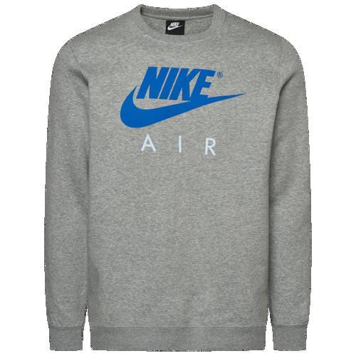 (取寄)ナイキ メンズ エア クルー Nike Men's Air Crew Dark Grey Heather Cobalt Blaze
