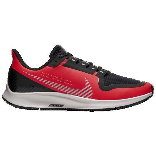 (取寄)ナイキ メンズ ランニングシューズ エア ズーム ペガサス 36 シールド Nike Men's Air Zoom Pegasus 36 Shield Havanero Red Silver