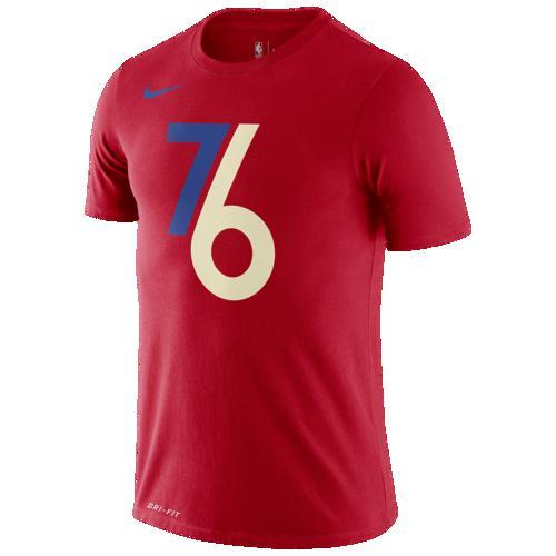 (取寄)ナイキ メンズ NBA シティ エディション FNW ロゴ Tシャツ フィラデルフィア セブンティシクサーズ Nike Men's NBA City Edition FNW Logo T-Shirt フィラデルフィア セブンティシクサーズ University Red