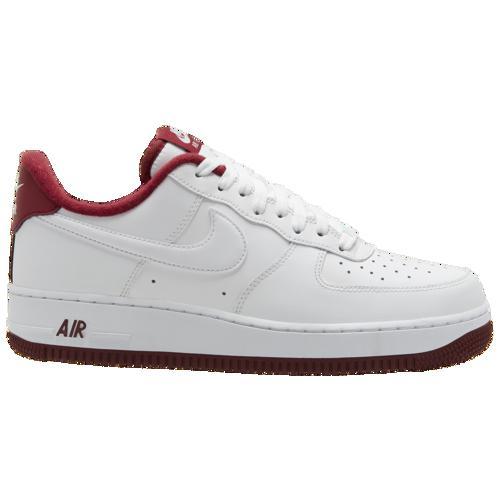 (取寄)ナイキ メンズ スニーカー エア フォース 1 ロー シューズ Nike Men's Air Force 1 Low White University Red