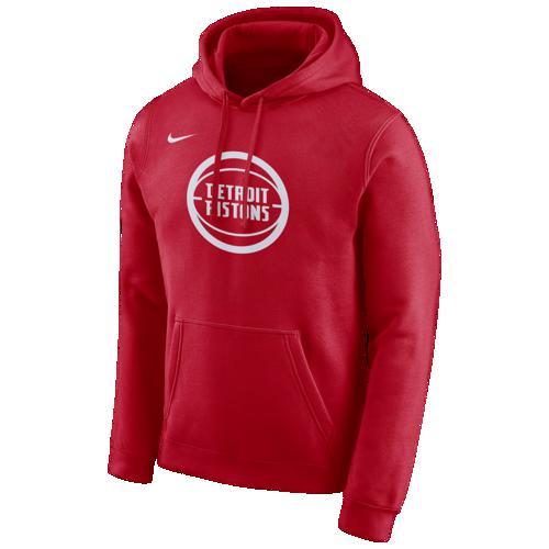 (取寄)ナイキ メンズ パーカー NBA シティ エディション フーディ デトロイト ピストンズ Nike Men's NBA City Edition Hoodie デトロイト ピストンズ University Red