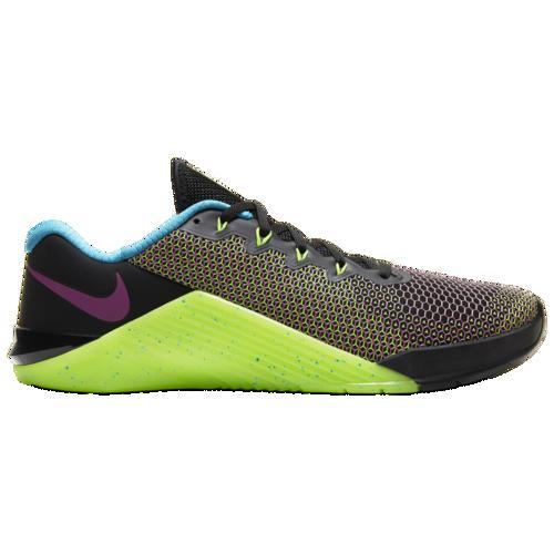 (取寄)ナイキ メンズ メトコン 5 Amp Nike Men's Metcon 5 Amp Black Fire Pink Green Strike Blue Fury