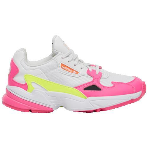 (取寄)アディダス レディース オリジナルス ファルコン Women's adidas Originals Falcon Shock Pink Solar Yellow Raw White