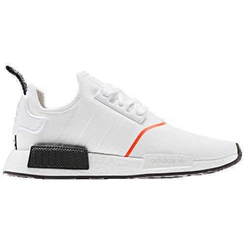 (取寄)アディダス メンズ オリジナルス NMD R1 Men's adidas Originals NMD R1 White White Solar Red