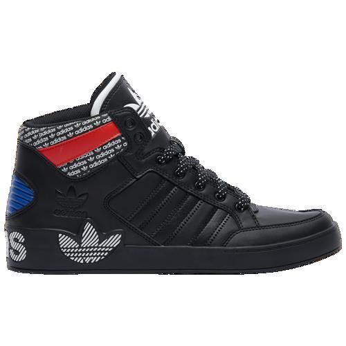<title>adidas アディダス 靴 シューズ スニーカー ファッション ブランド クーポンで最大2000円OFF 取寄 メンズ オリジナルス 有名な ハードコート Men's Originals Hardcourt Black Active Red</title>