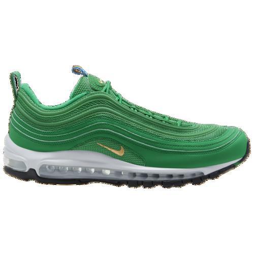 (取寄)ナイキ メンズ エア マックス '97 スニーカー シューズ Nike Men's Air Max '97 Lucky Green Metallic Gold White Black