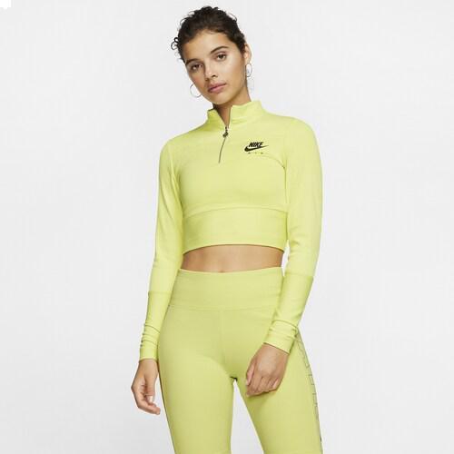 (取寄)ナイキ レディース エア ロング スリーブ リブ トップ Nike Women's Air Long Sleeve Rib Top Limelight Ice Silver