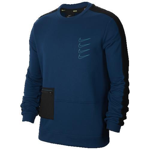 【クーポンで最大2000円OFF】(取寄)ナイキ レディース ロング スリーブ プルオーバー フリース クルー Nike Women's Long Sleeve Pullover Fleece Crew Valerian Blue Black Laser Blue