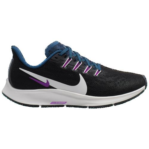 (取寄)ナイキ レディース エア ズーム ペガサス 36 Nike Women's Air Zoom Pegasus 36 Black Summit White Valerian Blue