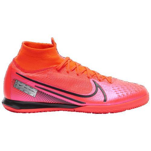(取寄)ナイキ メンズ マーキュリアル スーパーフライ 7 エリート ic Nike Men's Mercurial Superfly 7 Elite IC Laser Crimson Black Laser Crimson