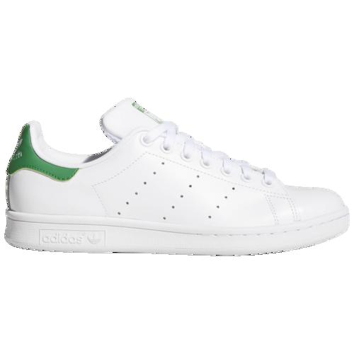 (取寄)アディダス レディース オリジナルス スタン スミス Women's adidas Originals Stan Smith White White Green