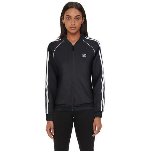 (取寄)アディダス レディース オリジナルス アディカラー スーパースター トラック トップ Women's adidas Originals Adicolor Superstar Track Top Black